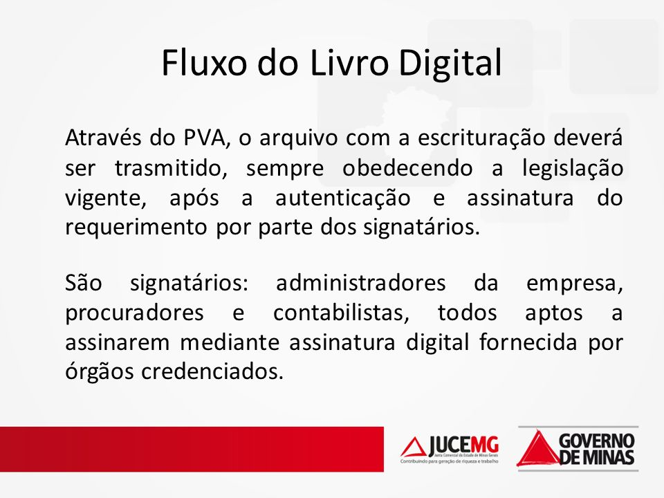 Fluxo do Livro Digital