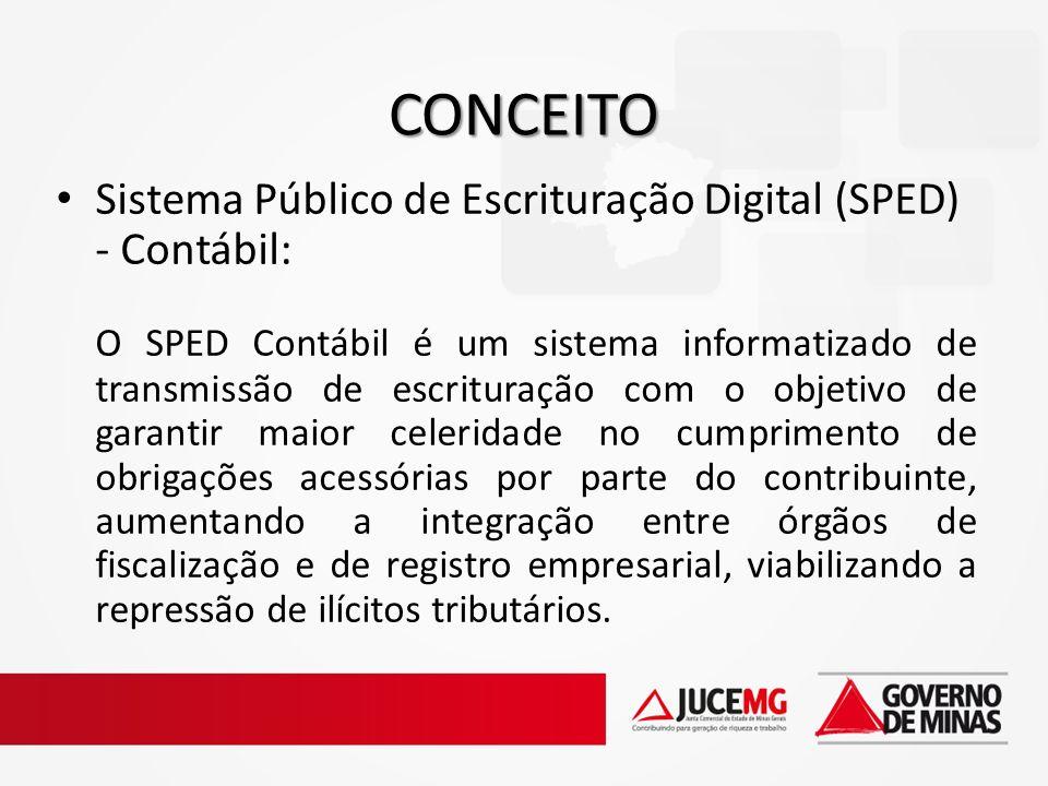 CONCEITO Sistema Público de Escrituração Digital (SPED) - Contábil: