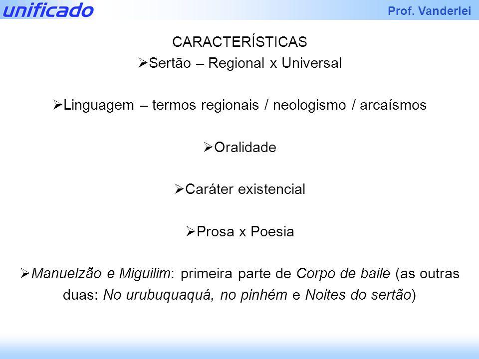 Sertão – Regional x Universal