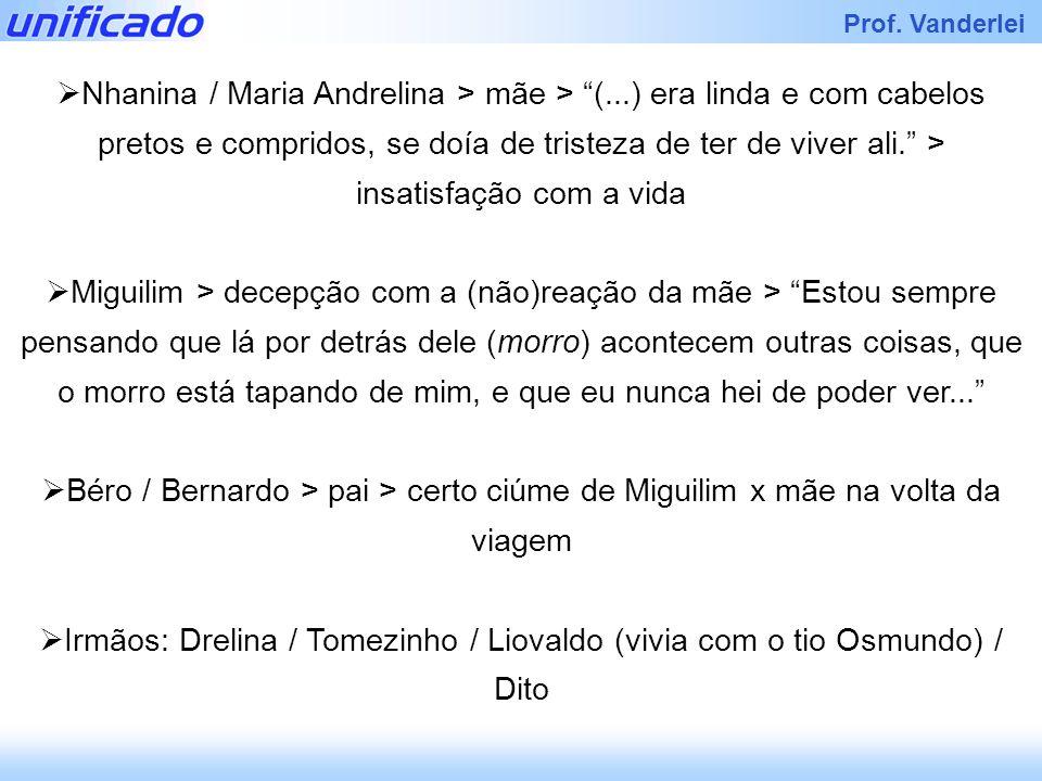 Nhanina / Maria Andrelina > mãe > (