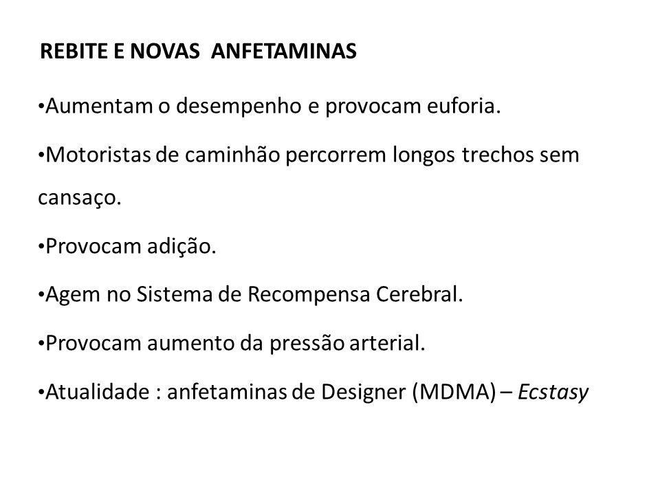 REBITE E NOVAS ANFETAMINAS