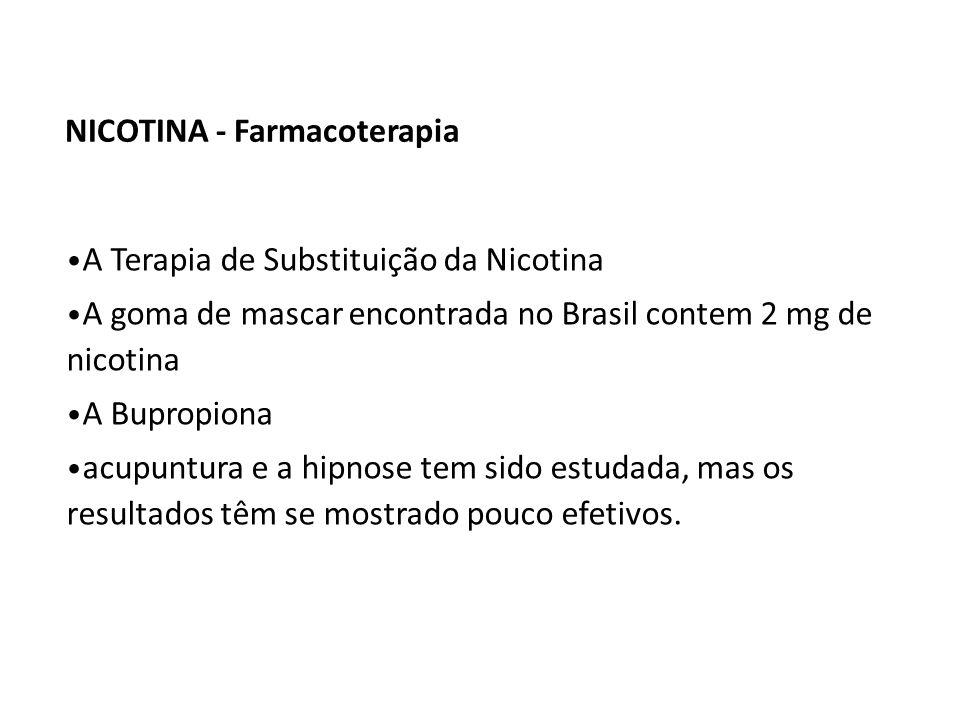 NICOTINA - Farmacoterapia