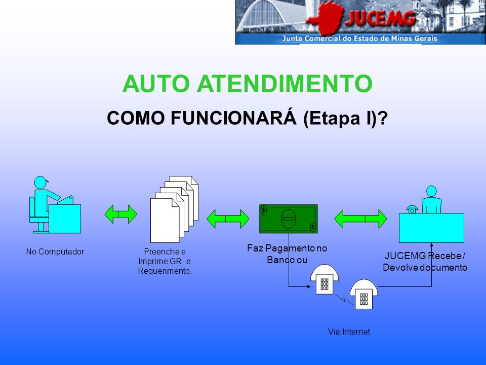COMO FUNCIONARÁ (Etapa I)
