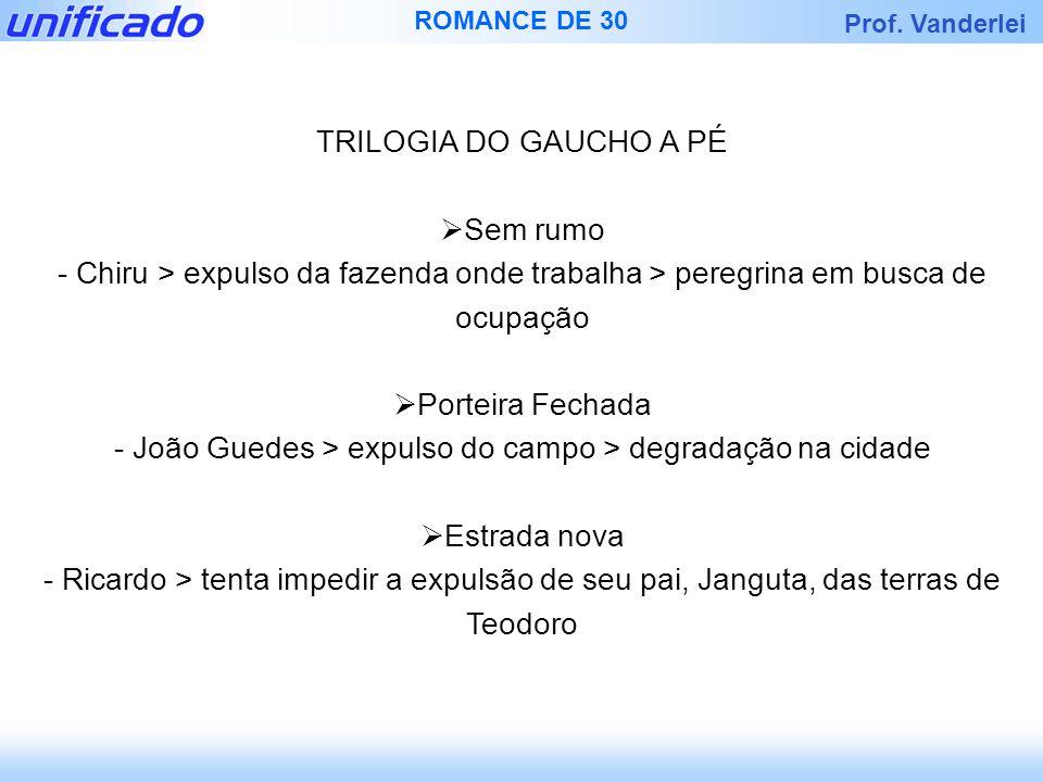 - João Guedes > expulso do campo > degradação na cidade