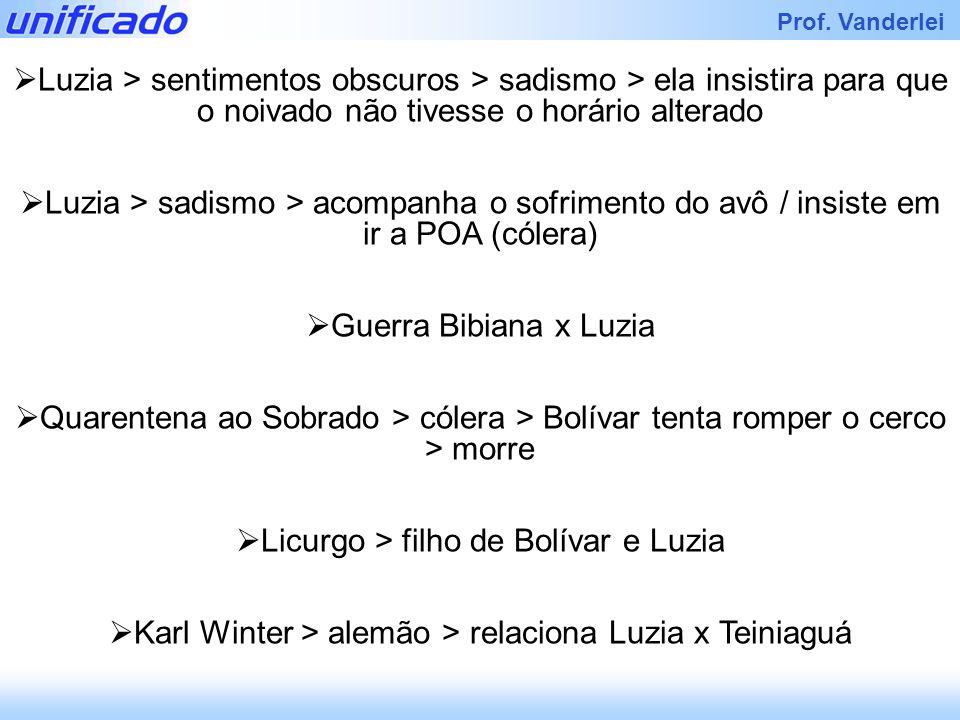Licurgo > filho de Bolívar e Luzia