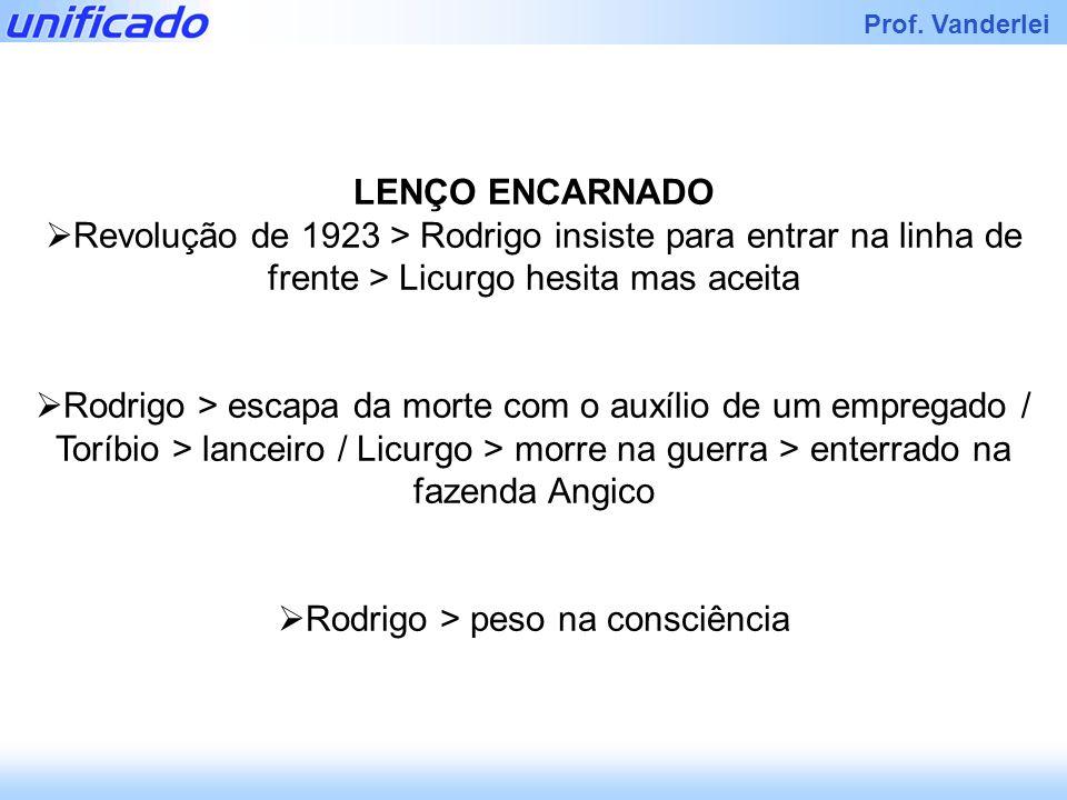 Rodrigo > peso na consciência