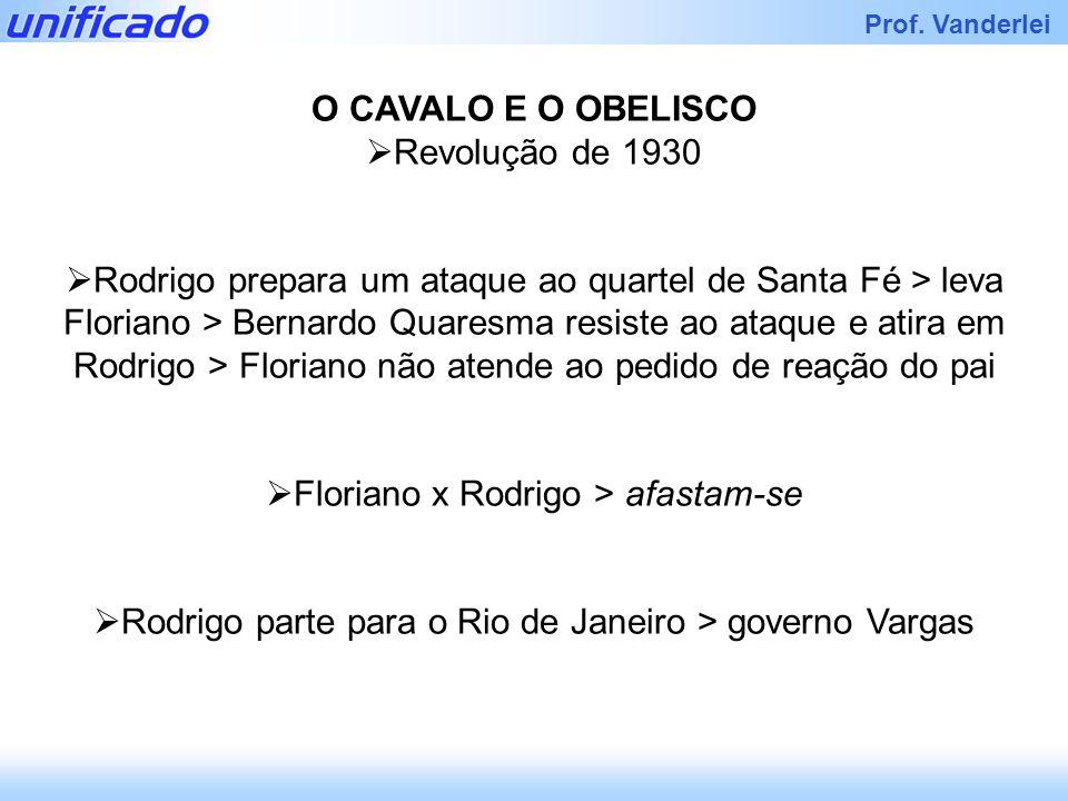 Floriano x Rodrigo > afastam-se