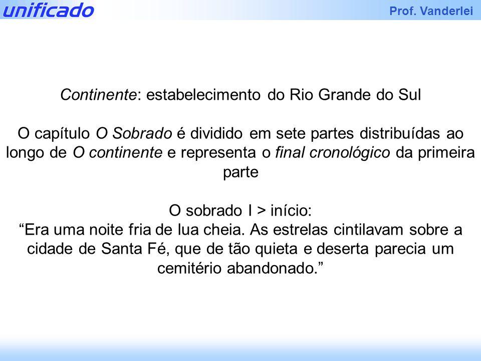 Continente: estabelecimento do Rio Grande do Sul