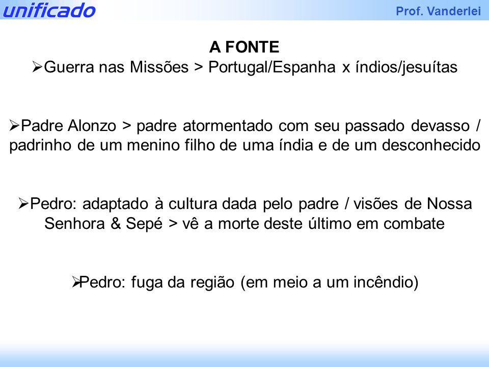 Guerra nas Missões > Portugal/Espanha x índios/jesuítas