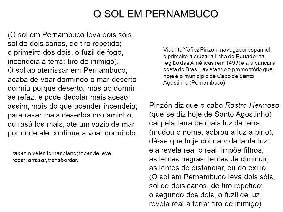 O SOL EM PERNAMBUCO