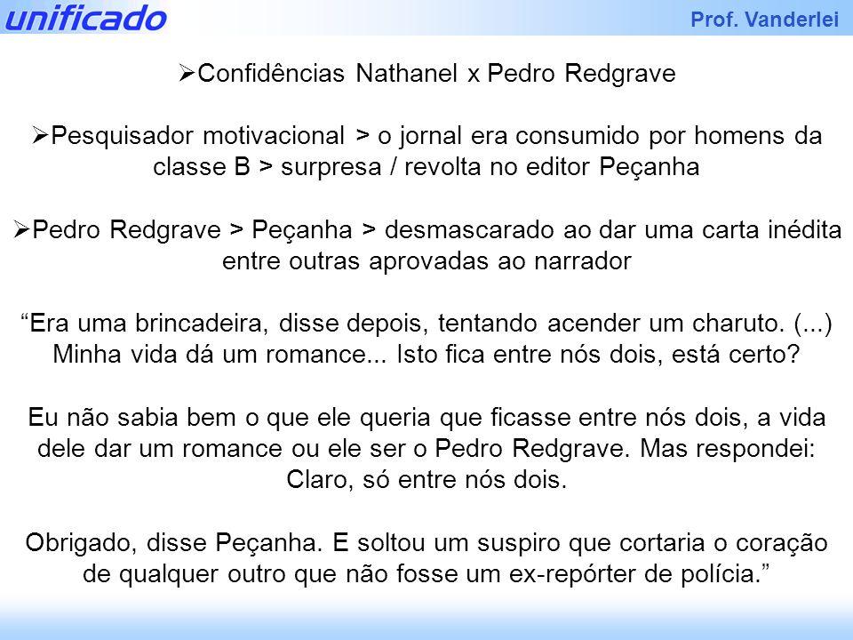 Confidências Nathanel x Pedro Redgrave