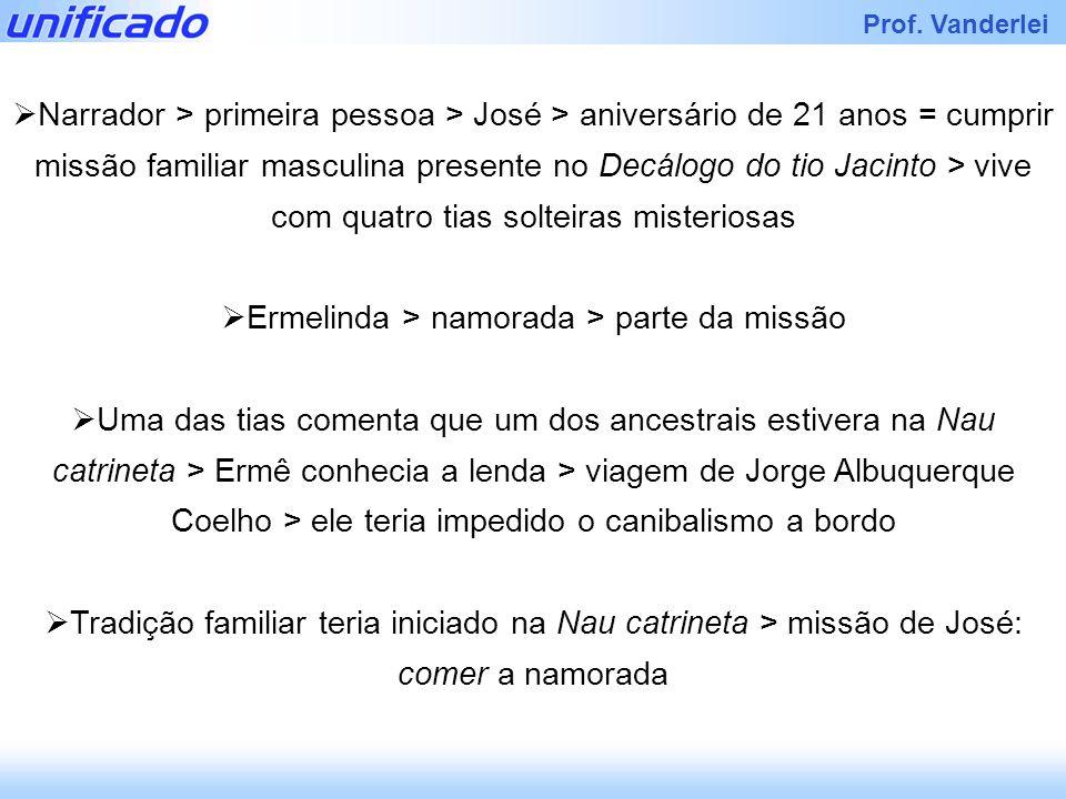 Ermelinda > namorada > parte da missão