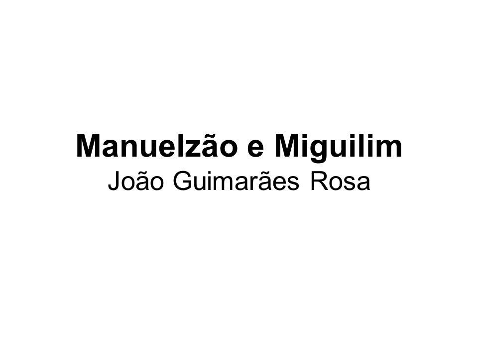 Manuelzão e Miguilim João Guimarães Rosa