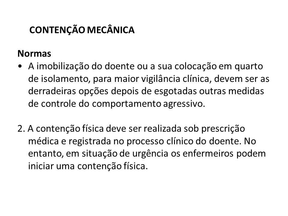 CONTENÇÃO MECÂNICA Normas.