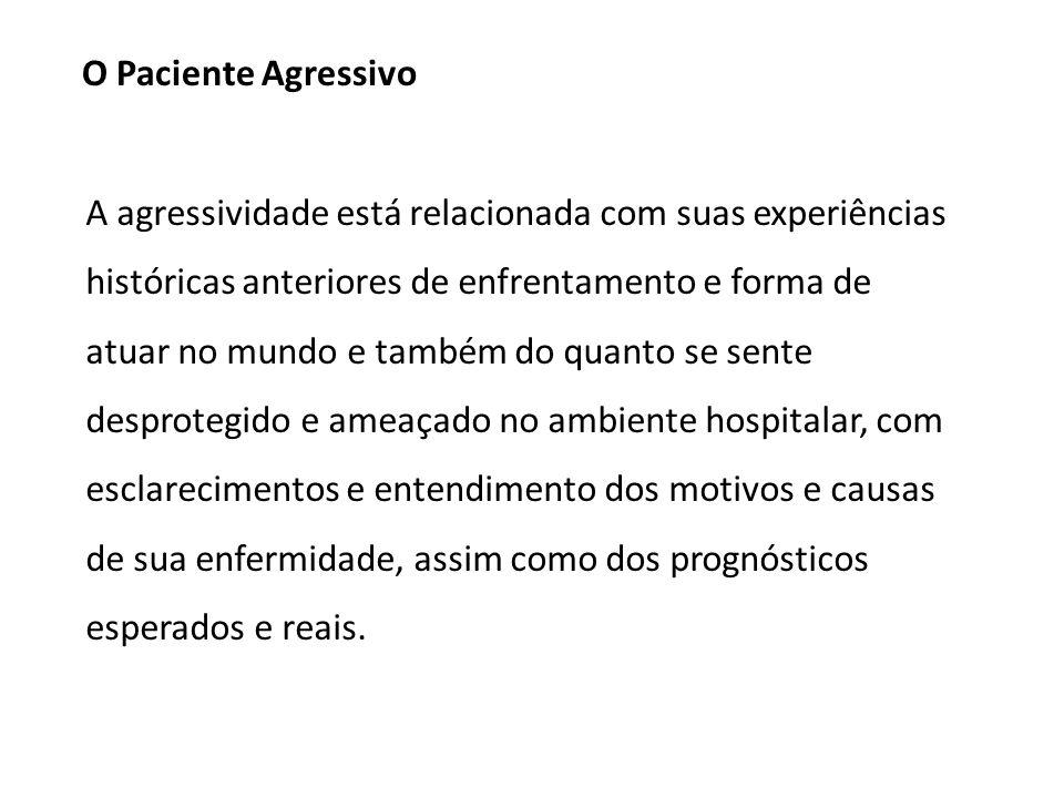 O Paciente Agressivo