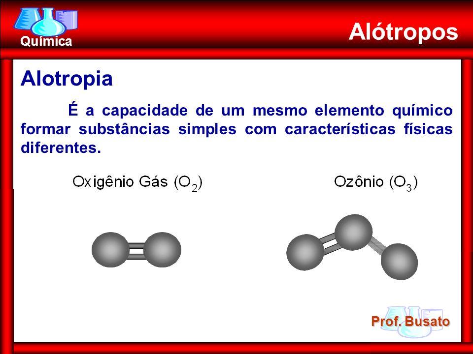 Alótropos Alotropia.