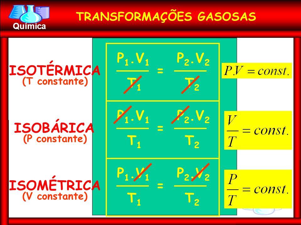 TRANSFORMAÇÕES GASOSAS
