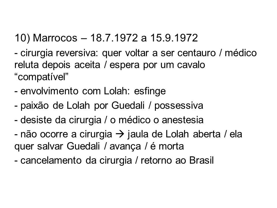 10) Marrocos – 18.7.1972 a 15.9.1972