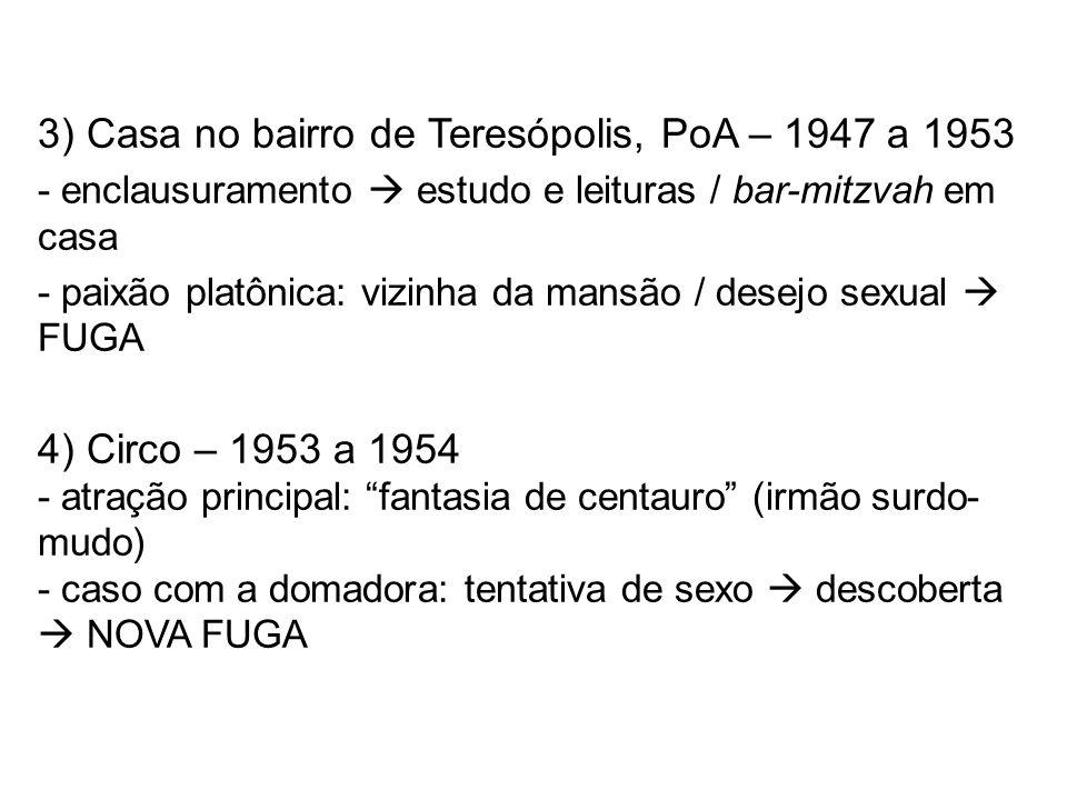 3) Casa no bairro de Teresópolis, PoA – 1947 a 1953