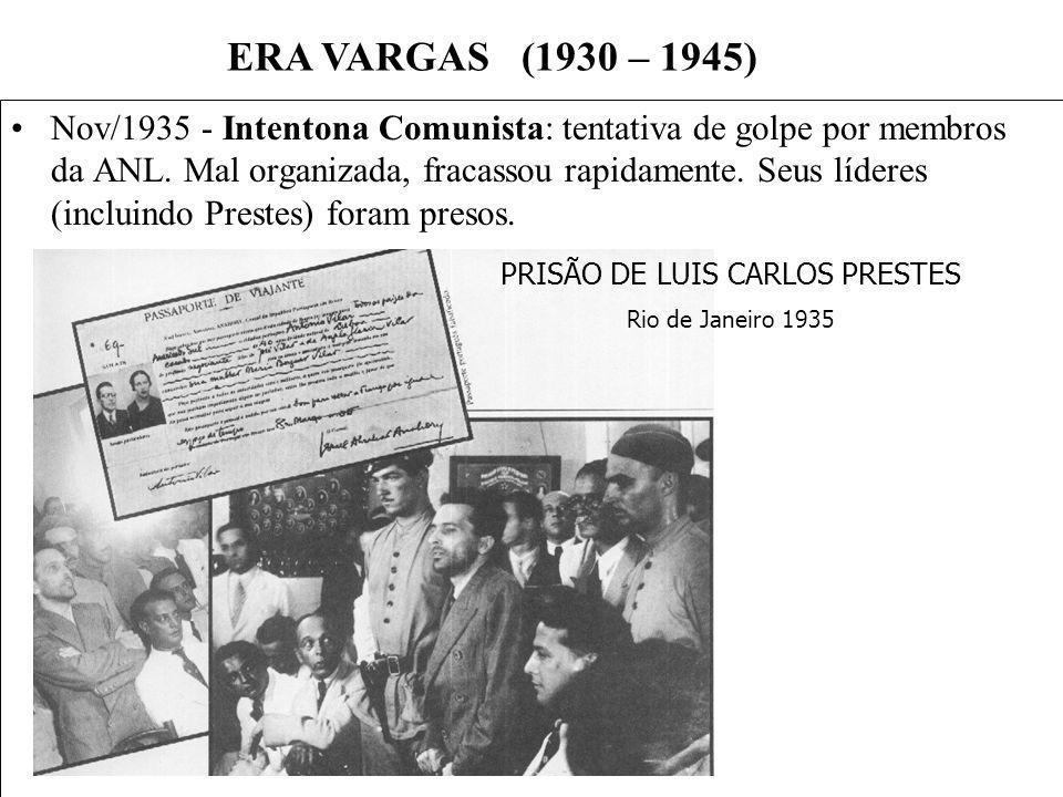 PRISÃO DE LUIS CARLOS PRESTES