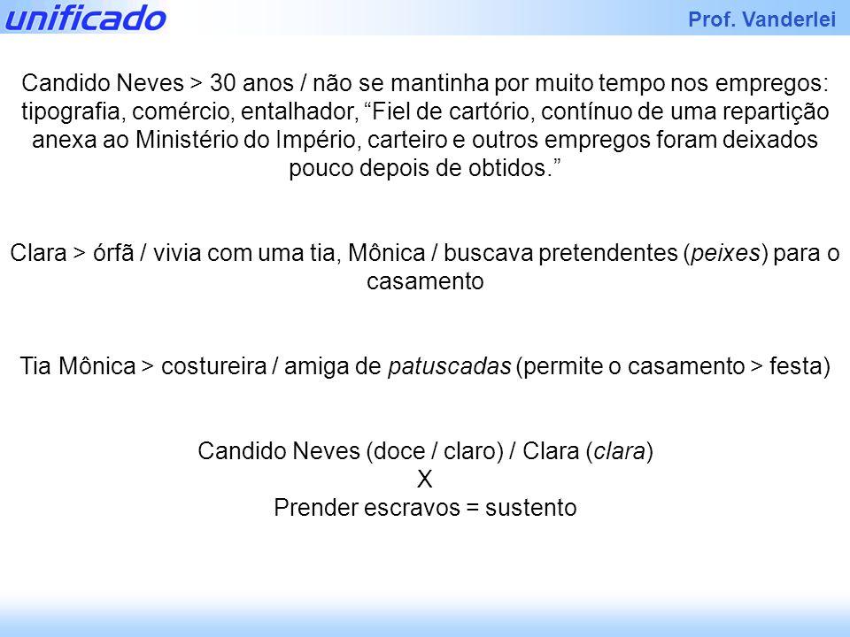 Candido Neves (doce / claro) / Clara (clara) X