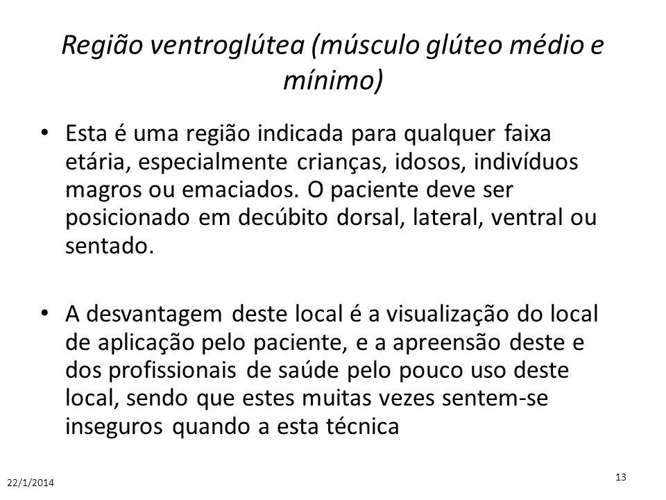 Região ventroglútea (músculo glúteo médio e mínimo)
