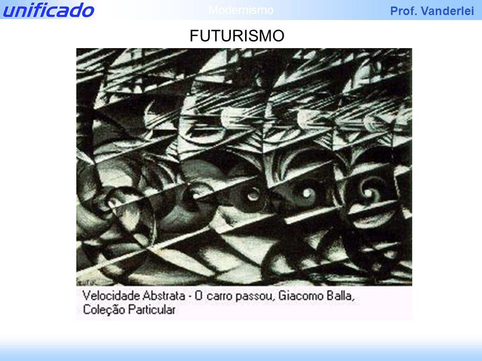 Modernismo FUTURISMO