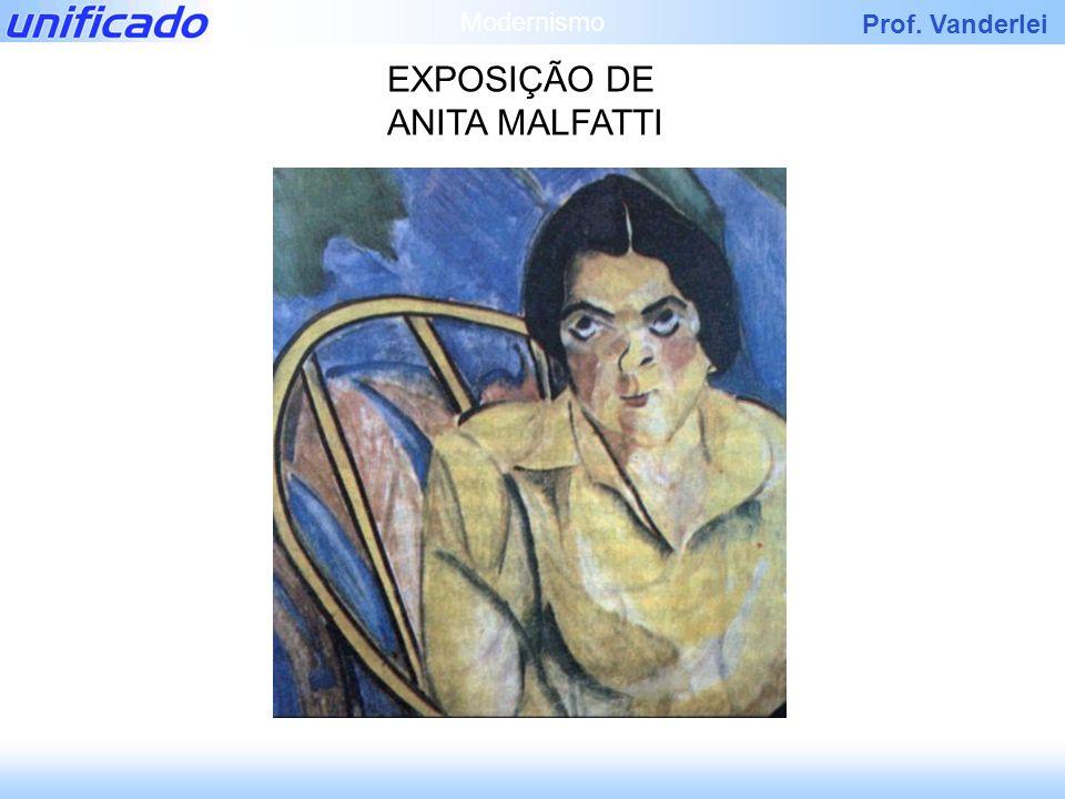 EXPOSIÇÃO DE ANITA MALFATTI