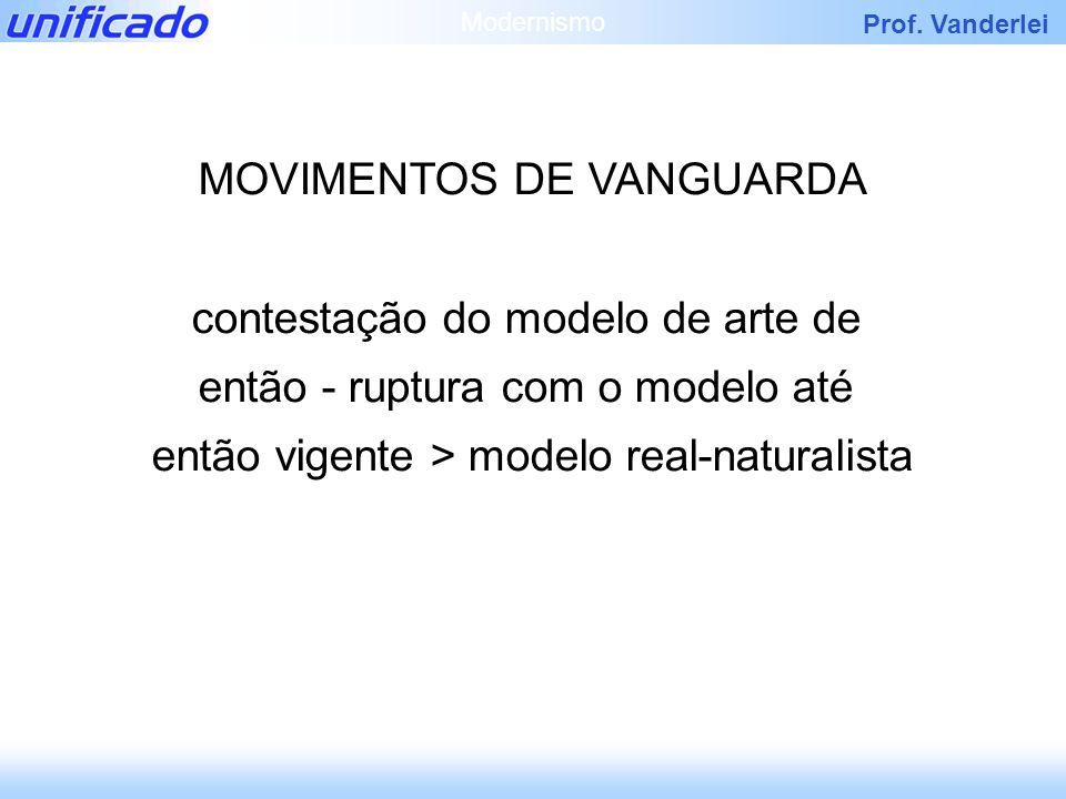 MOVIMENTOS DE VANGUARDA