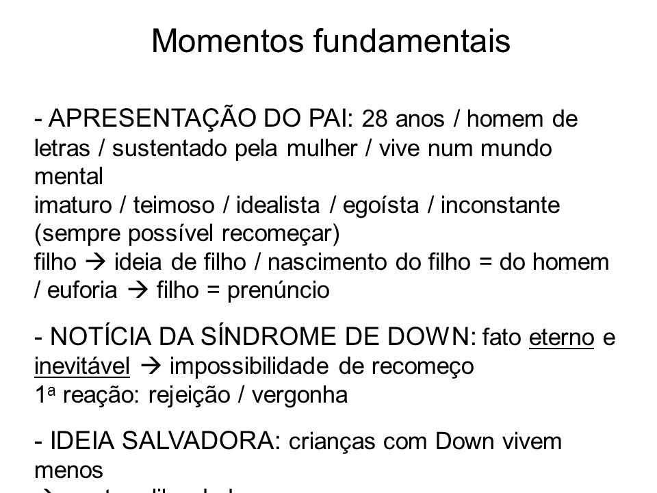 Momentos fundamentais