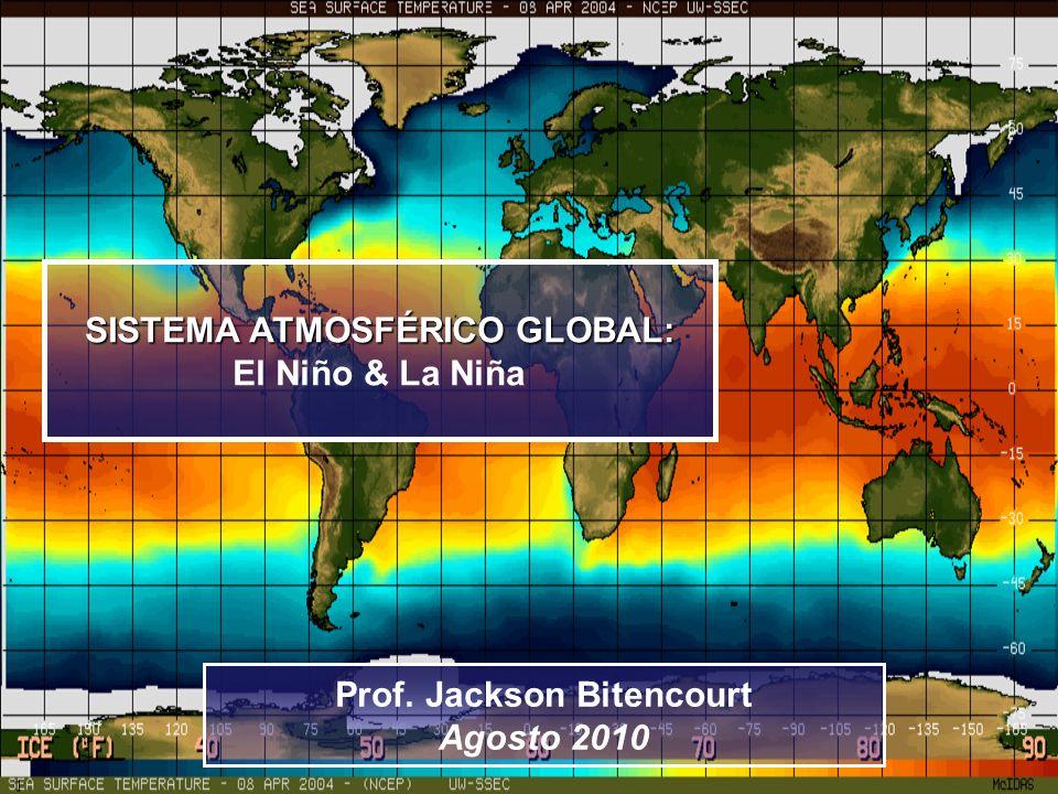 SISTEMA ATMOSFÉRICO GLOBAL: Prof. Jackson Bitencourt