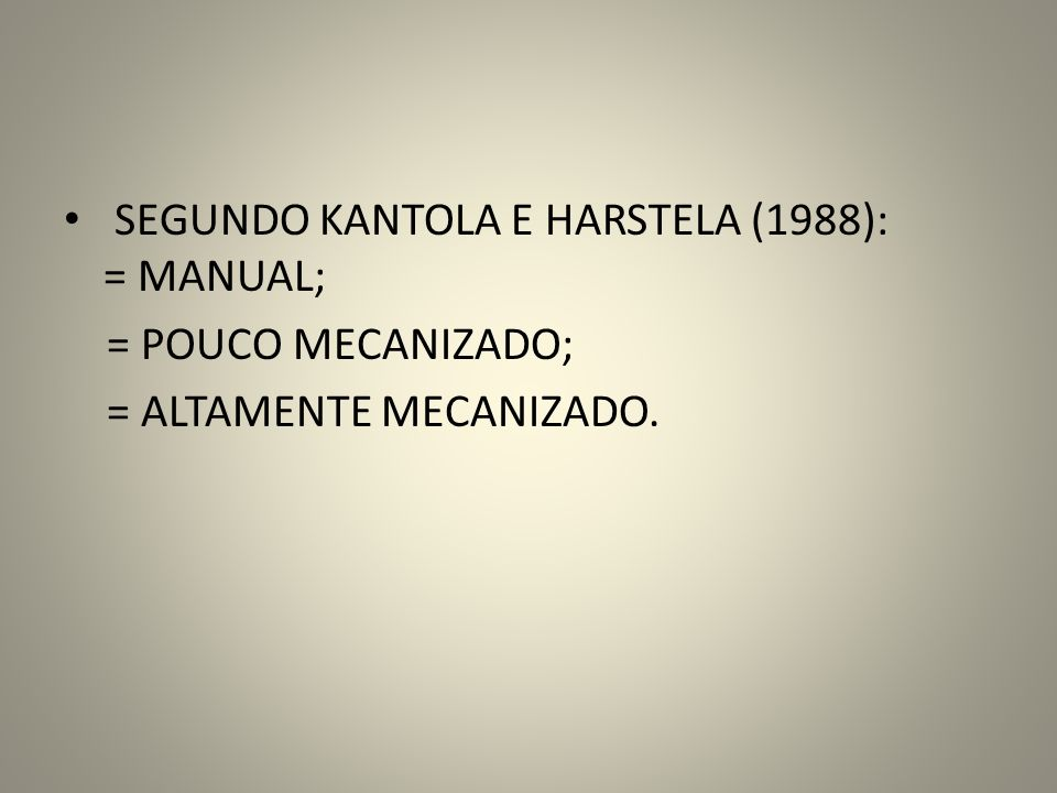 SEGUNDO KANTOLA E HARSTELA (1988): = MANUAL;