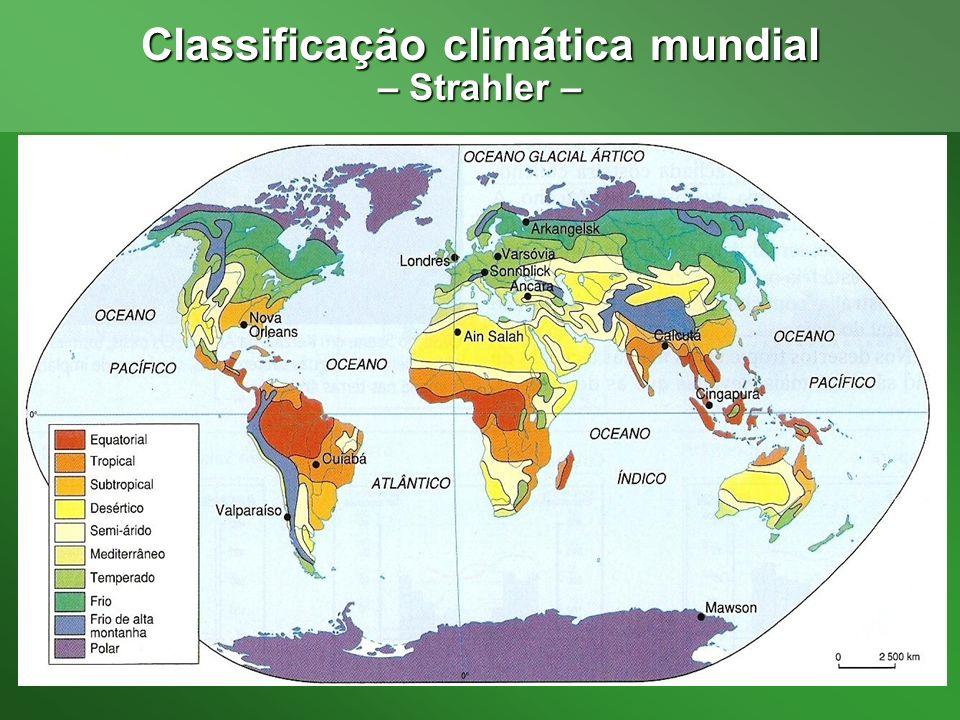 Classificação climática mundial
