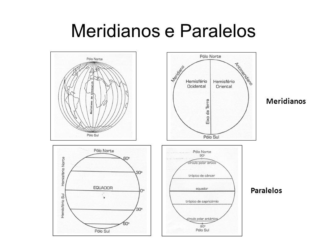 Meridianos e Paralelos