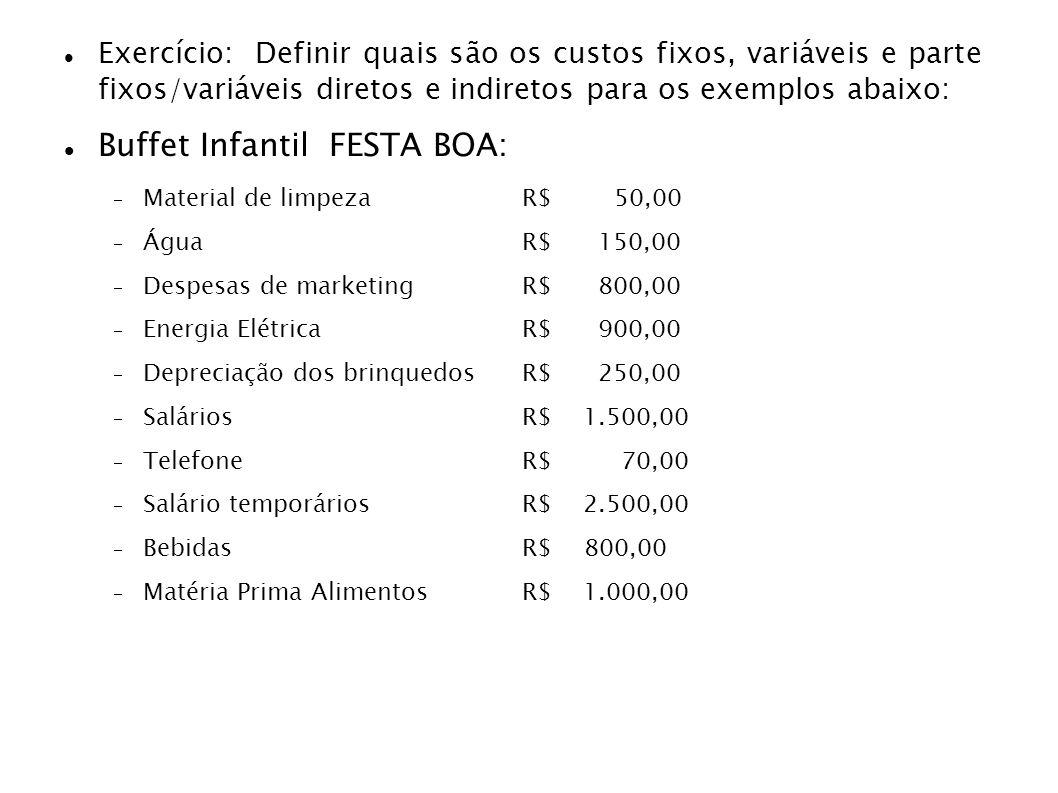 Buffet Infantil FESTA BOA: