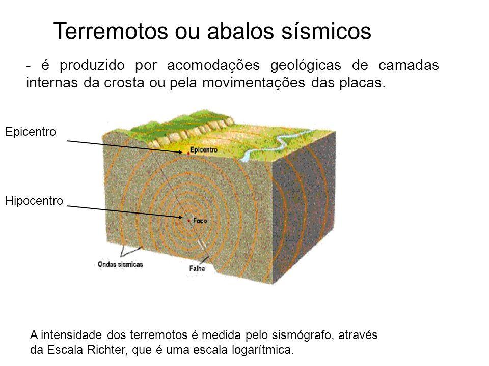 Terremotos ou abalos sísmicos