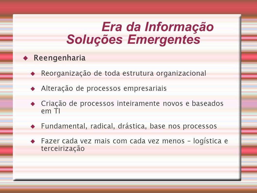Era da Informação Soluções Emergentes