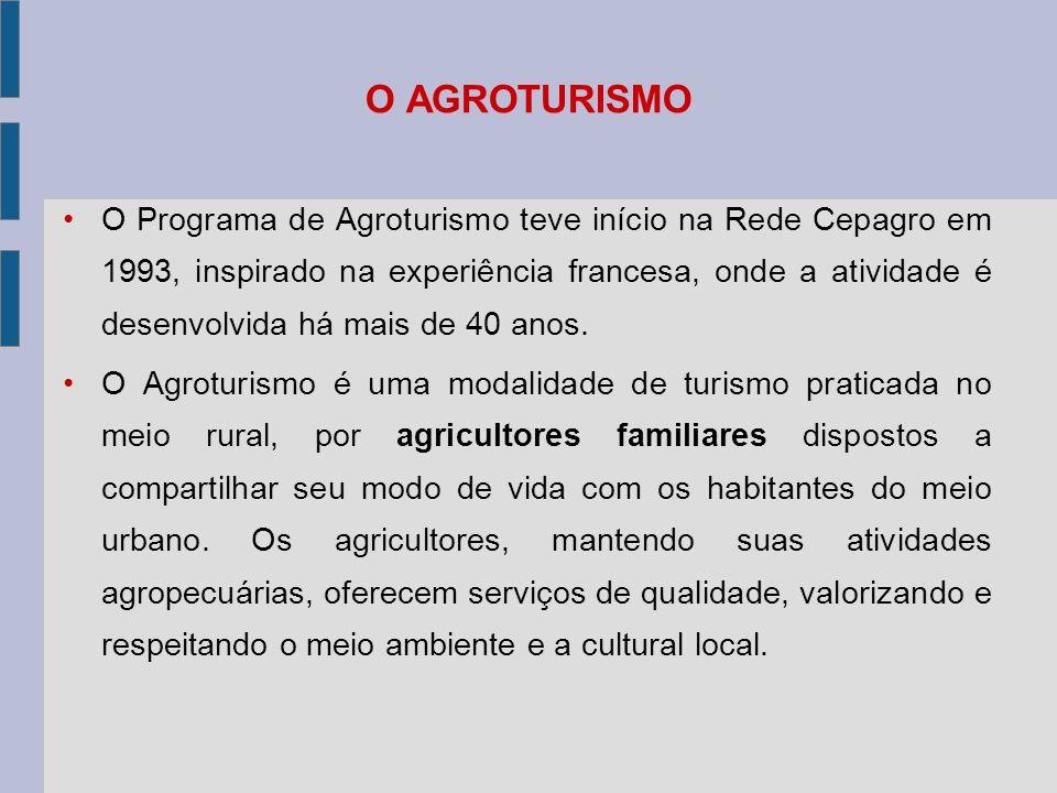 O AGROTURISMO