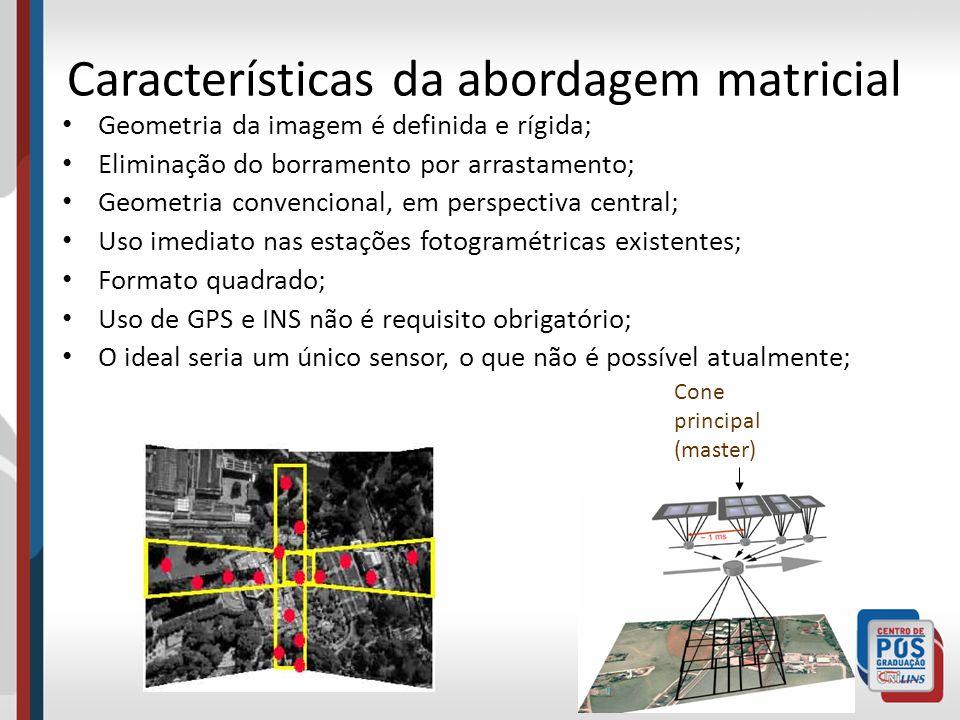 Características da abordagem matricial