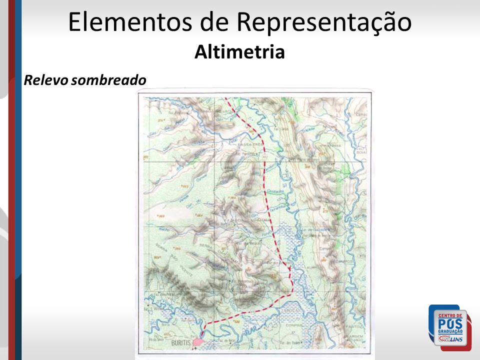 Elementos de Representação Altimetria