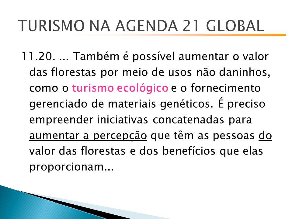 TURISMO NA AGENDA 21 GLOBAL