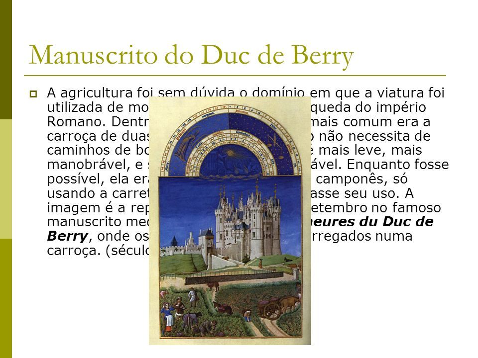 Manuscrito do Duc de Berry