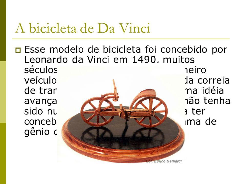 A bicicleta de Da Vinci