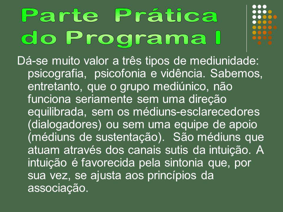 Parte Prática do Programa I