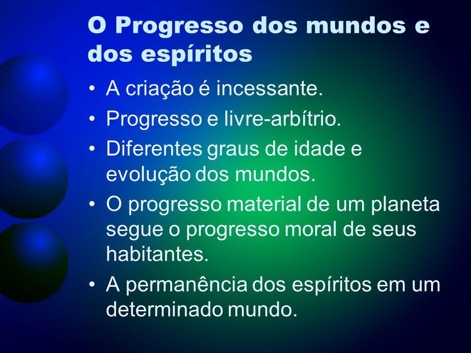 O Progresso dos mundos e dos espíritos