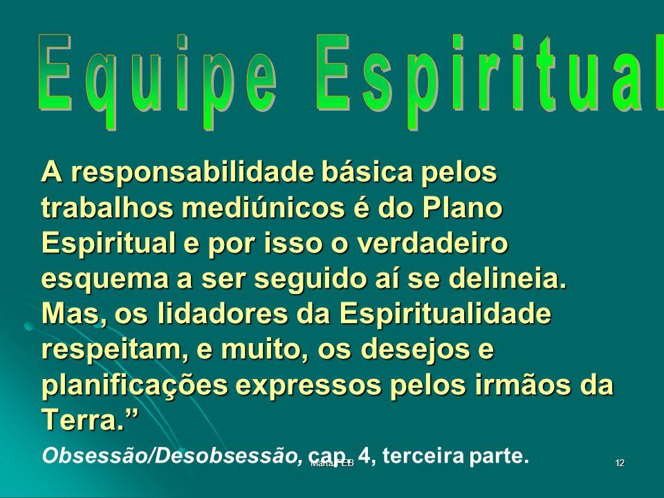 Equipe Espiritual
