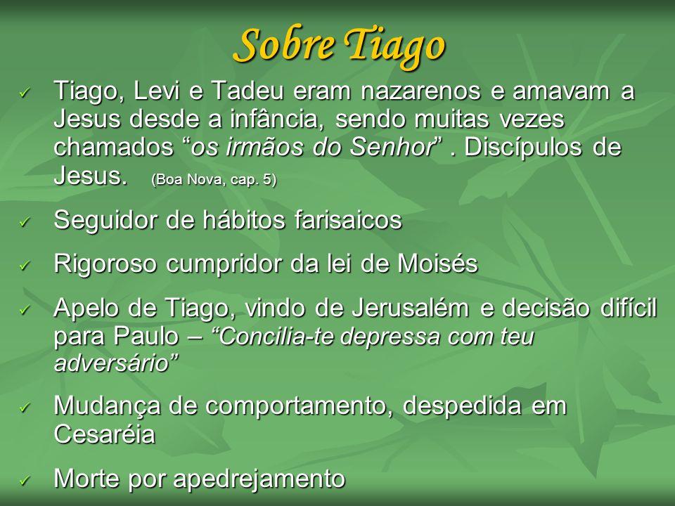 Sobre Tiago