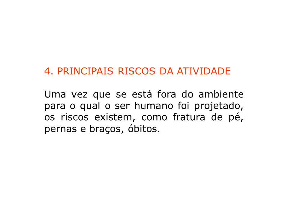 4. PRINCIPAIS RISCOS DA ATIVIDADE