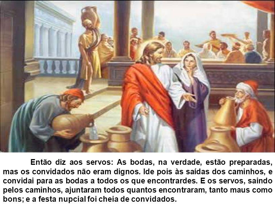 EM CANÁ DA GALILÉIA JESUS COMEÇOU SEUS SINAIS