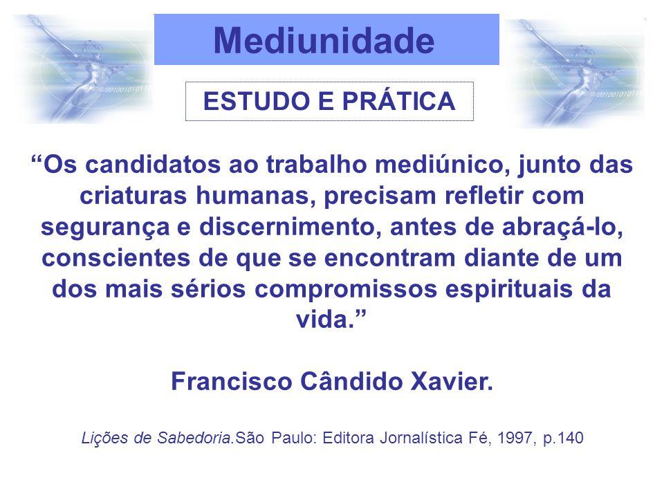 Francisco Cândido Xavier.